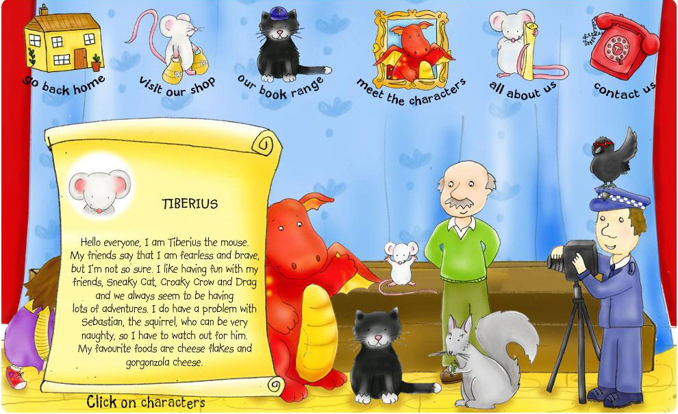 All about Tiberius